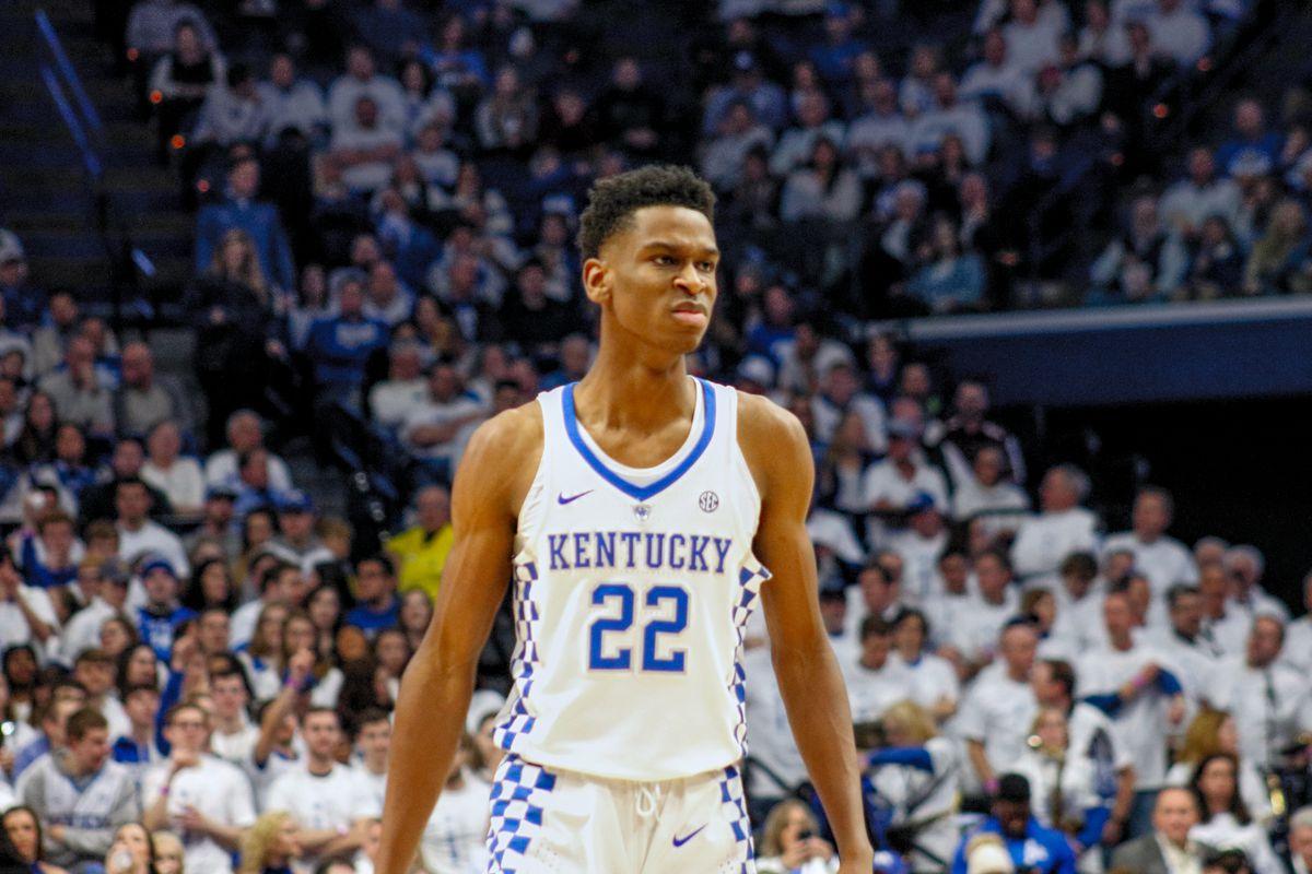Kentucky Basketball Named Preseason Favorite For Sec Crown: Shai Gilgeous-Alexander Named SEC Freshman Of The Week