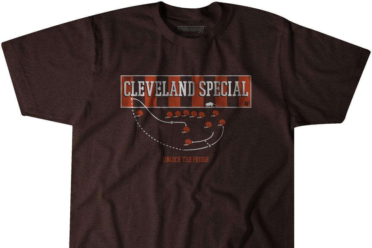 """online store 71e81 47825 The """"Cleveland Special"""" is now a T-shirt for Browns fans to ..."""
