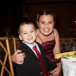 Brother and sister Billy and Sydney Sherwood at a recent fund-raiser for the Arms Wide Open Foundation inspired by his battle with a tumor. Their parents, Dena and Billy Sherwood Sr. of Marlboro, N.J., established the foundation.