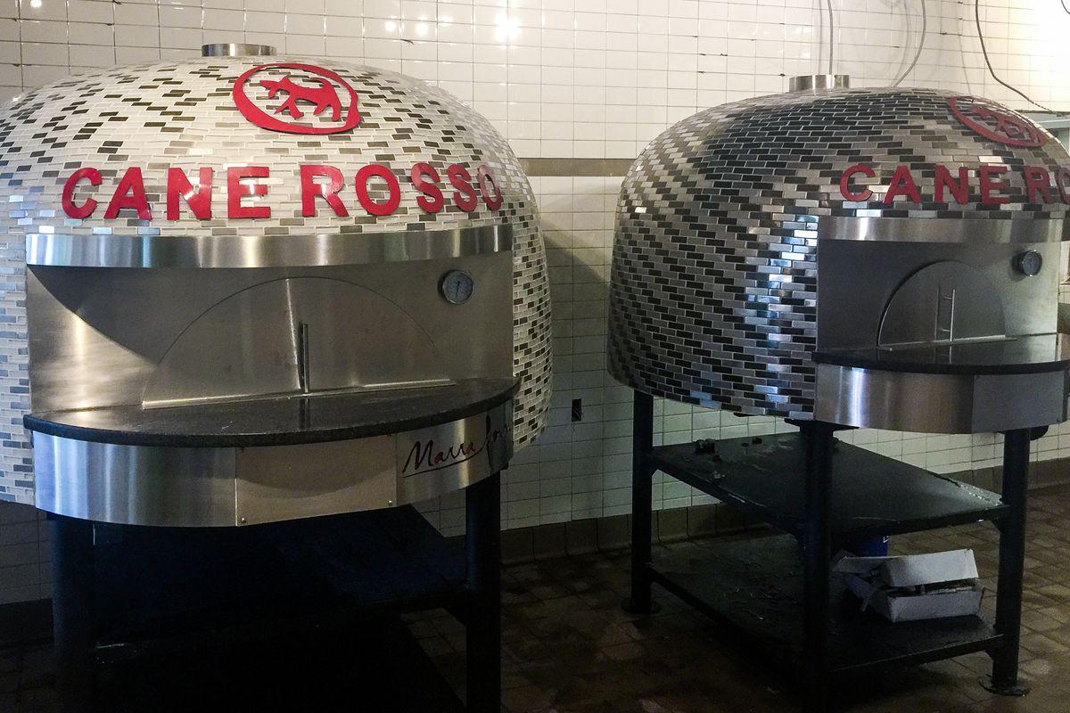 Cane Rosso's Austin pizza ovens