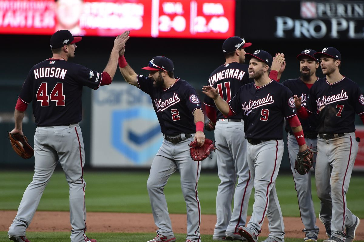 Cards' Hitting Woes Continue in 3-1 Loss to Nationals in Game 2