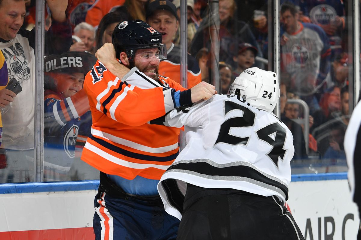 Image result for patrick maroon hit