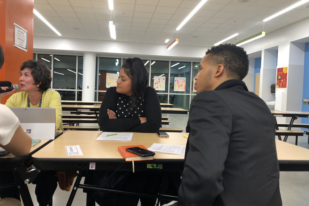 Principals, parents, and teachers discuss school quality and how ratings reflect that —or don't — at Englewood STEM High School in Chicago.