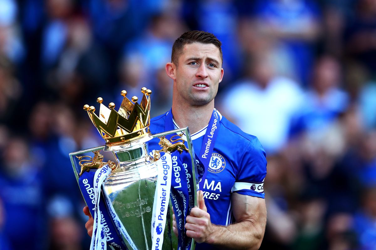 Image result for gary cahill trophy