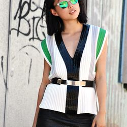 """Margaret Zhang of <a href=""""http://shinebythree.com/""""target=""""_blank"""">Shine by Three</a>"""