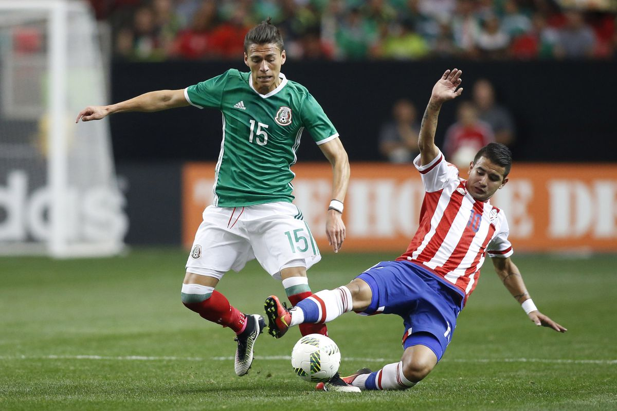 Soccer: Mexican National Team-Paraguay vs Mexico