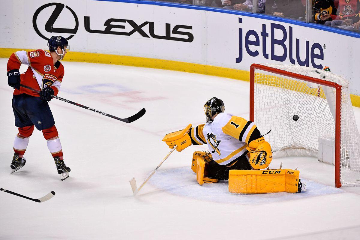 NHL: Pittsburgh Penguins at Florida Panthers