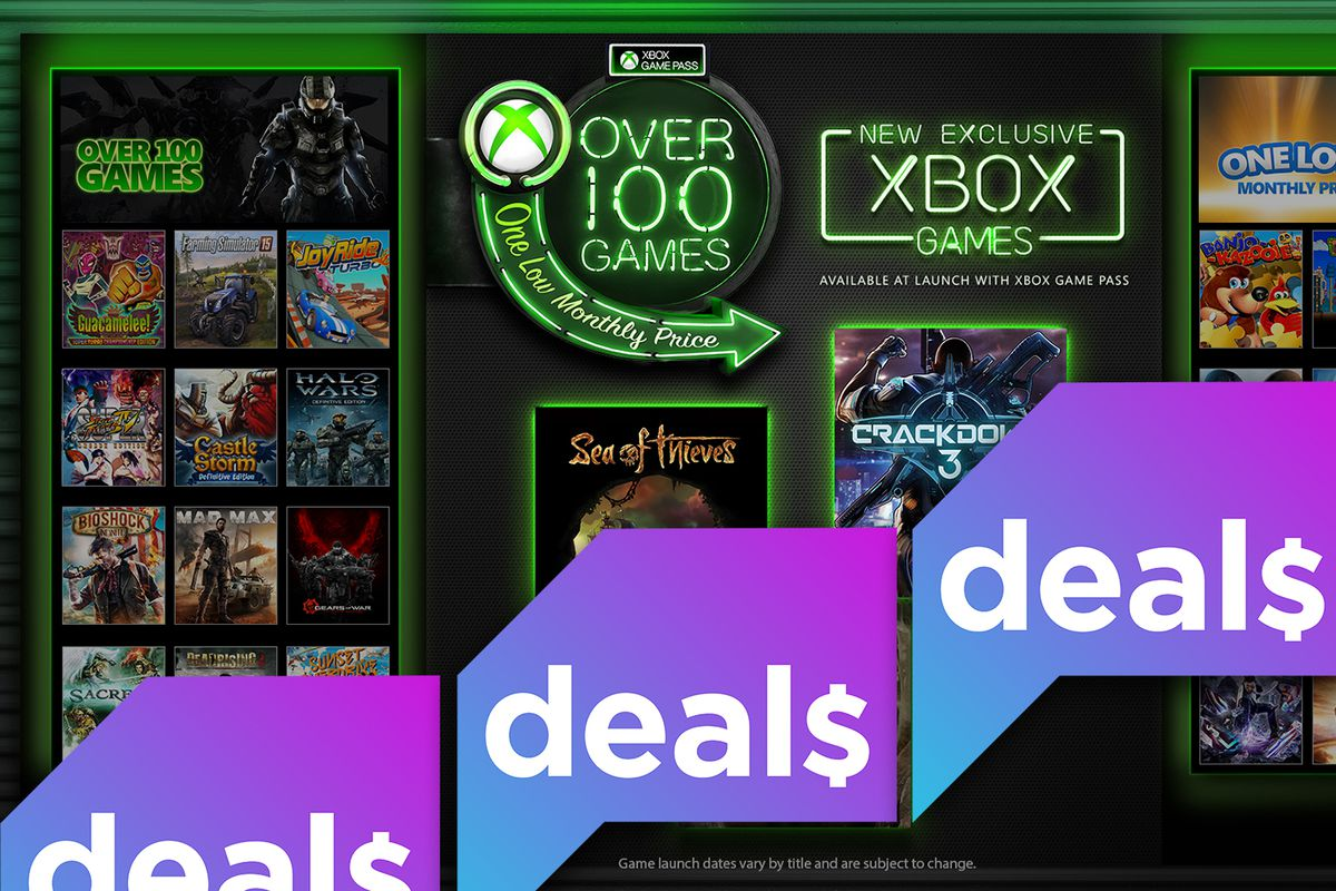 Xbox Game Pass with Polygon Deals logo