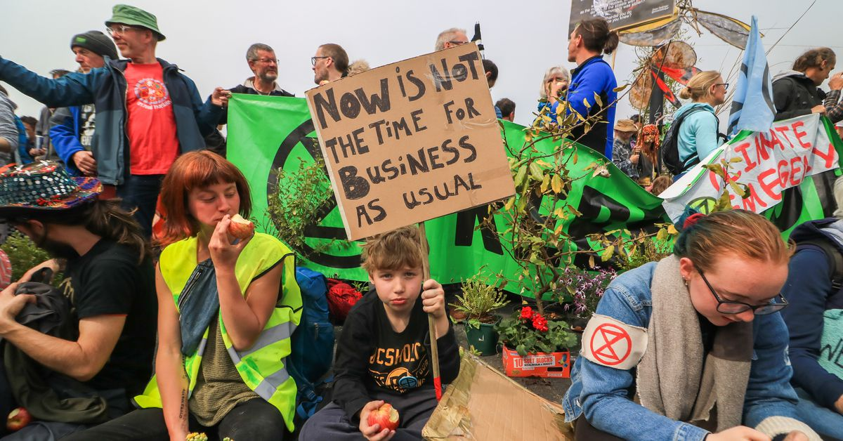 Why the climate protests disrupting London are different