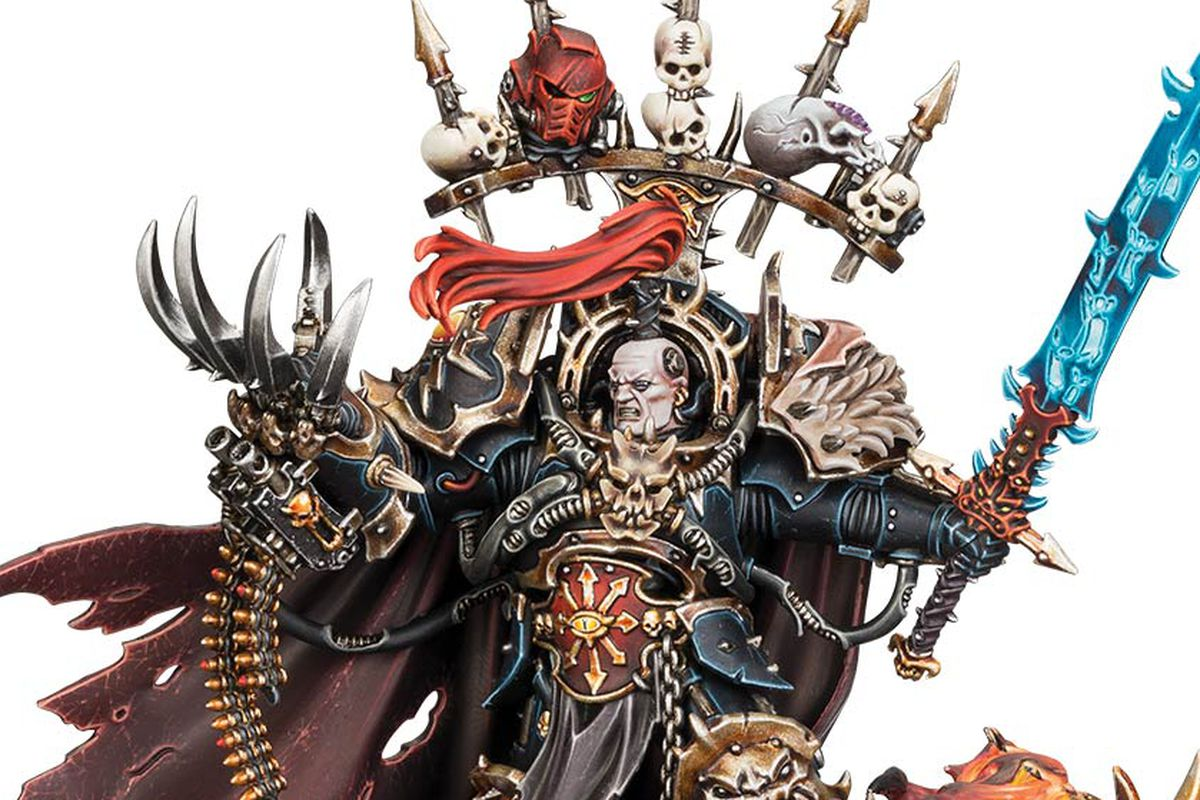 Warhammer 40K introduces new Chaos Space Marines, with