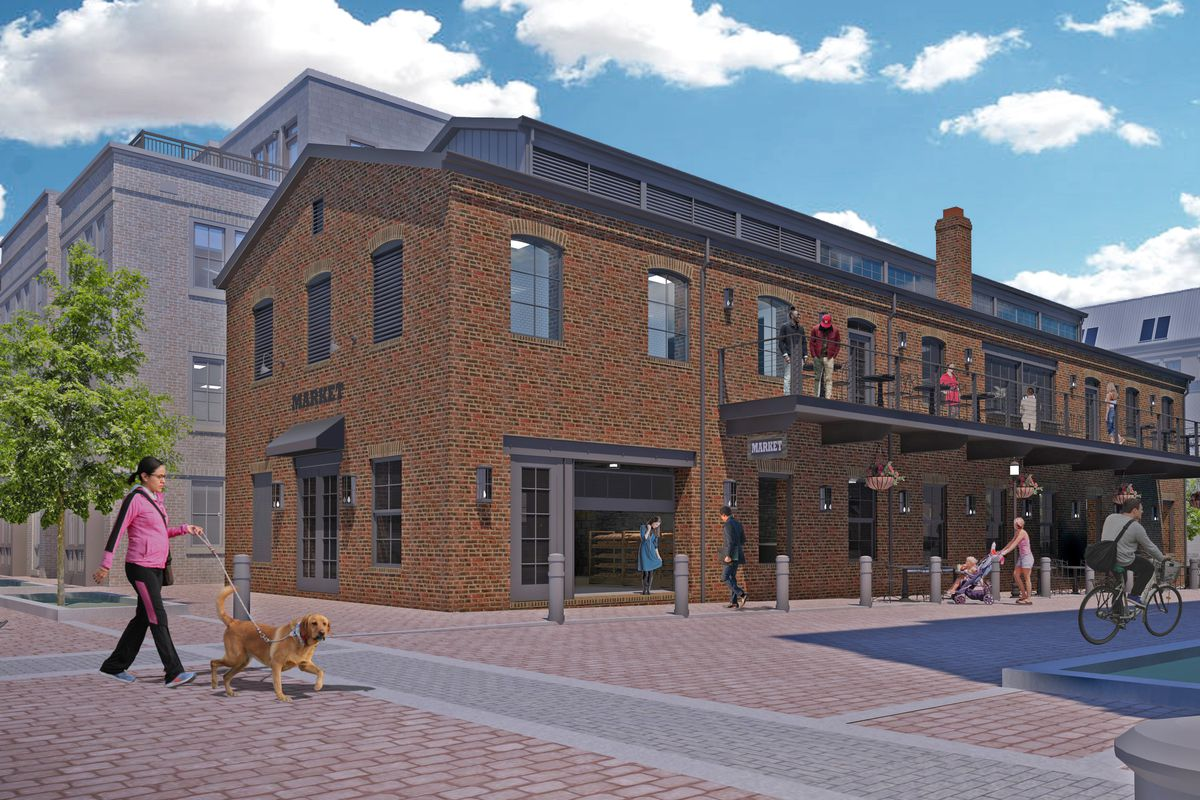 A rendering of the Mill at 10 Duke