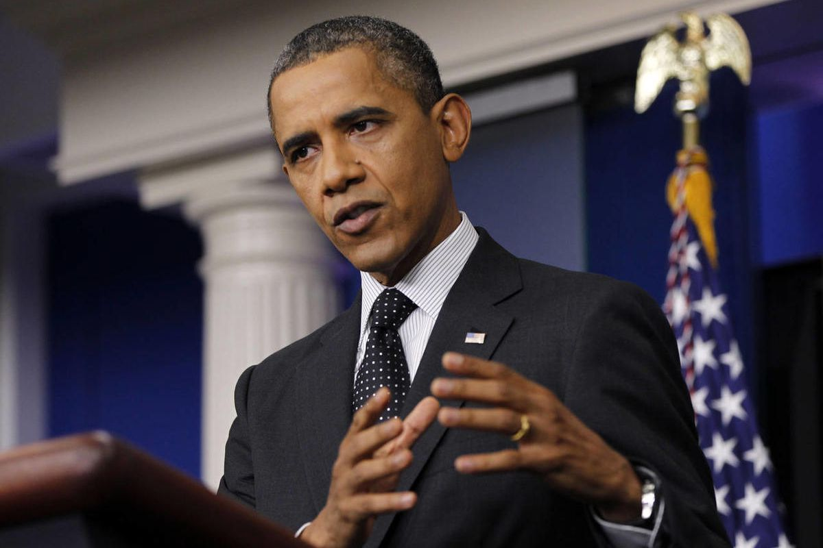 President Barack Obama speaks in the White House briefing room in Washington, Monday, Aug. 20, 2012. The President has recently come under fire for rising gas prices.