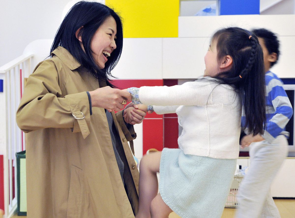 japan working mom