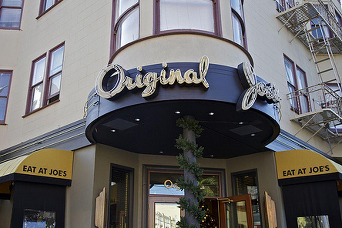 Original Joe's, North Beach.