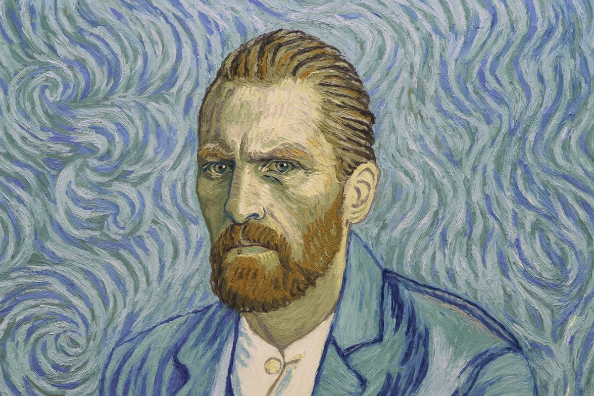 A still from the film Loving Vincent