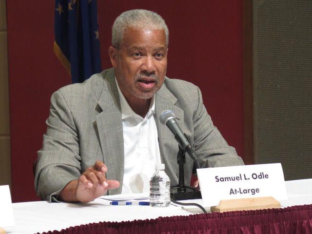 IPS school board member Sam Odle.