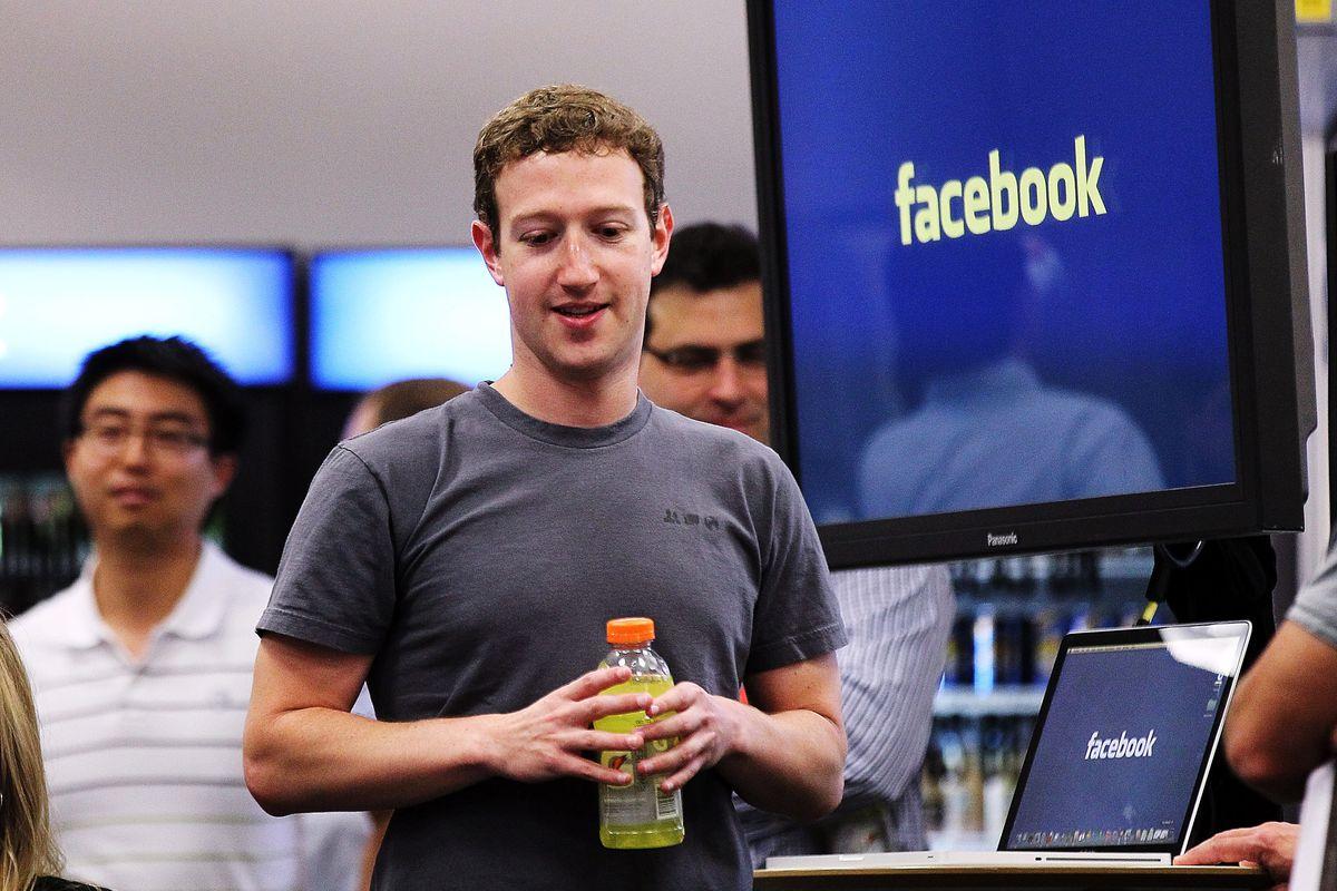 Mark Zuckerberg, of Facebook.