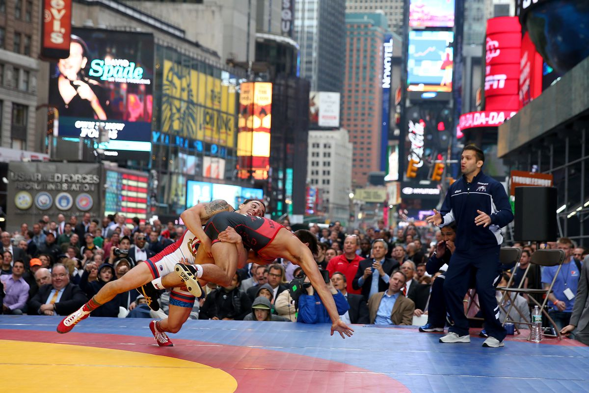 USA Wrestling Beat The Streets Exhibition