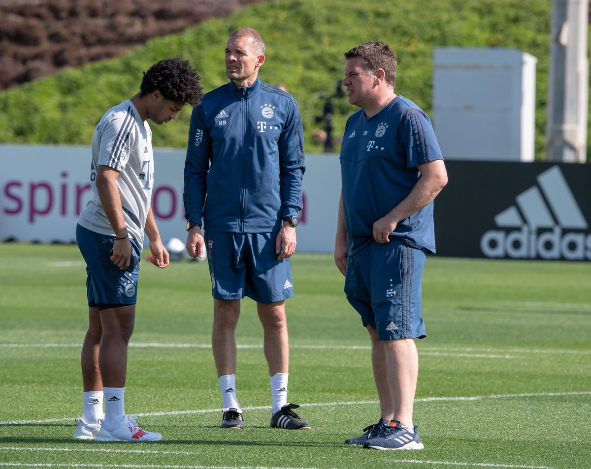 Training camp FC Bayern Munich in Doha