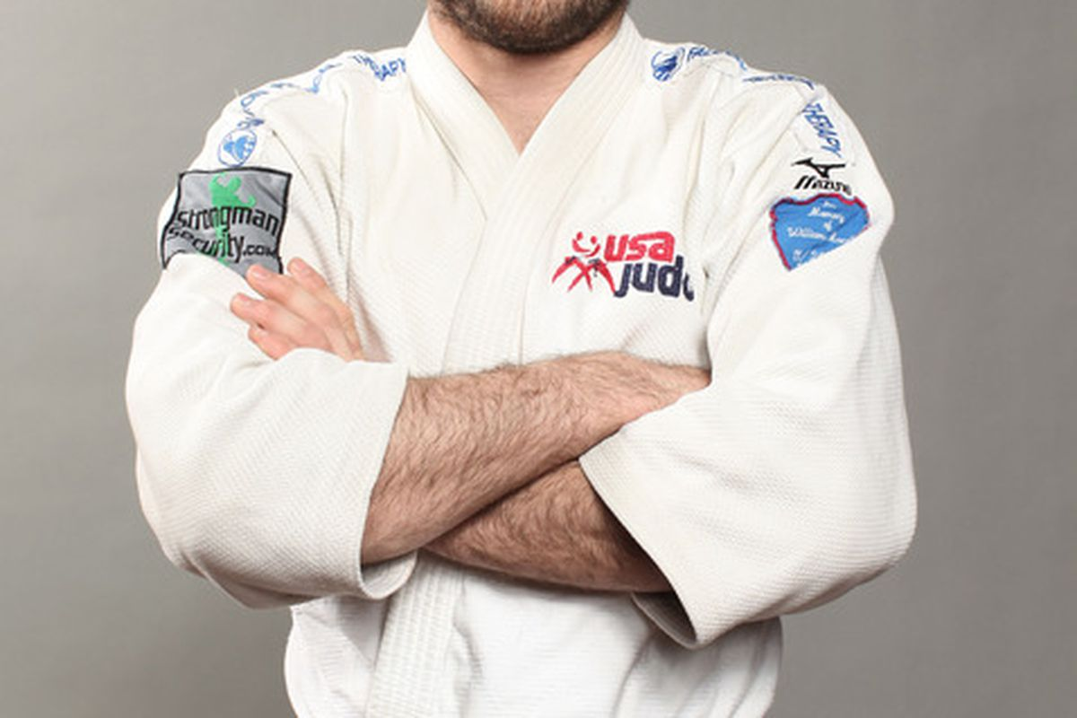 DALLAS, TX - MAY 13:  Judo athlete, Travis Stevens poses for a portrait during the 2012 Team USA Media Summit on May 13, 2012 in Dallas, Texas.  (Photo by Nick Laham/Getty Images)