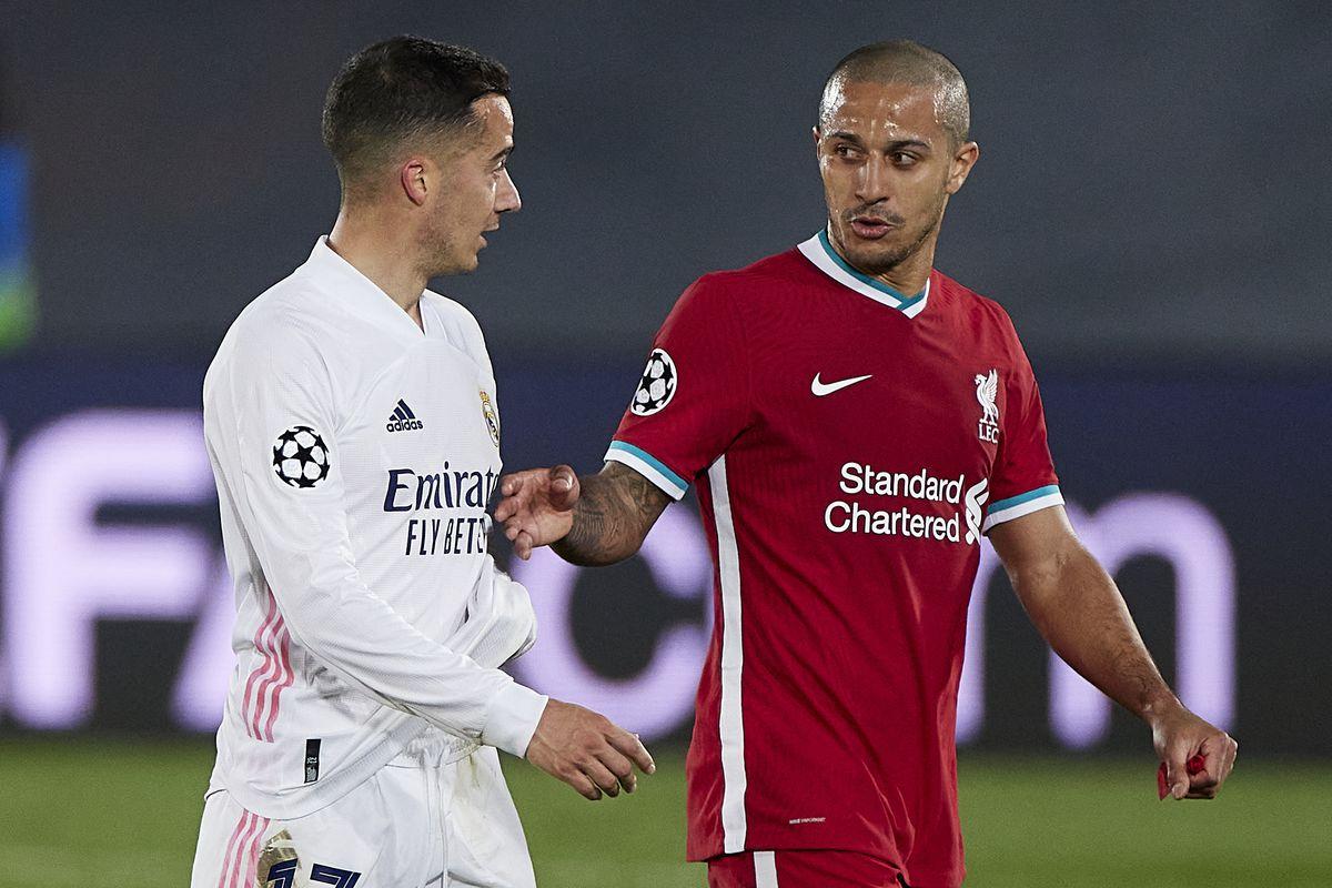 ESP: Real Madrid-Liverpool. UEFA Champions League.