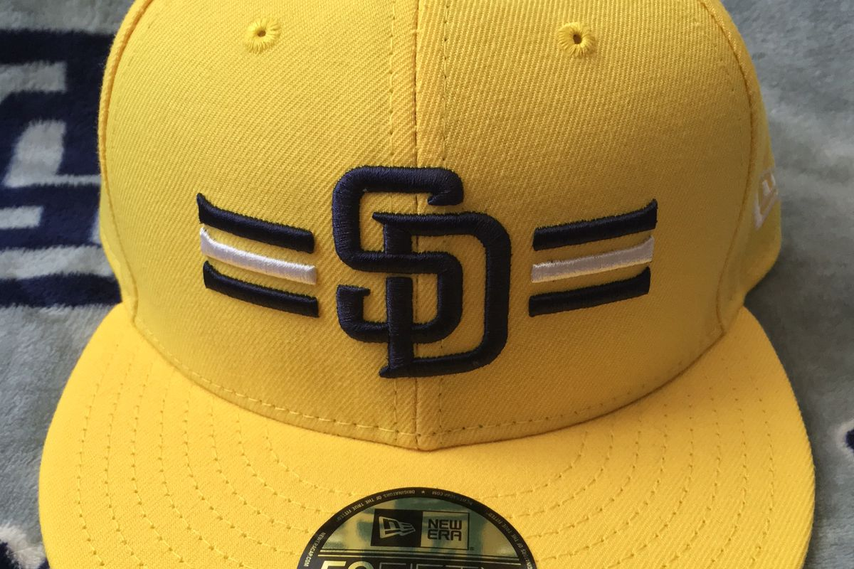 release date 2a885 d520b store men san diego padres new era 2017 mlb players weekend 59fifty cap  yellow 20939142 44e21 edda0  new arrivals tfhs closer look 2017 padres  players ...
