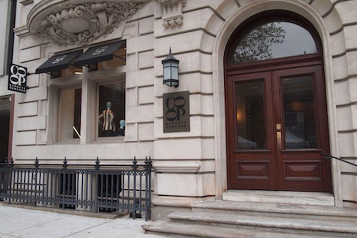 The Barneys <del>Co-op</del> store in Rittenhouse Square