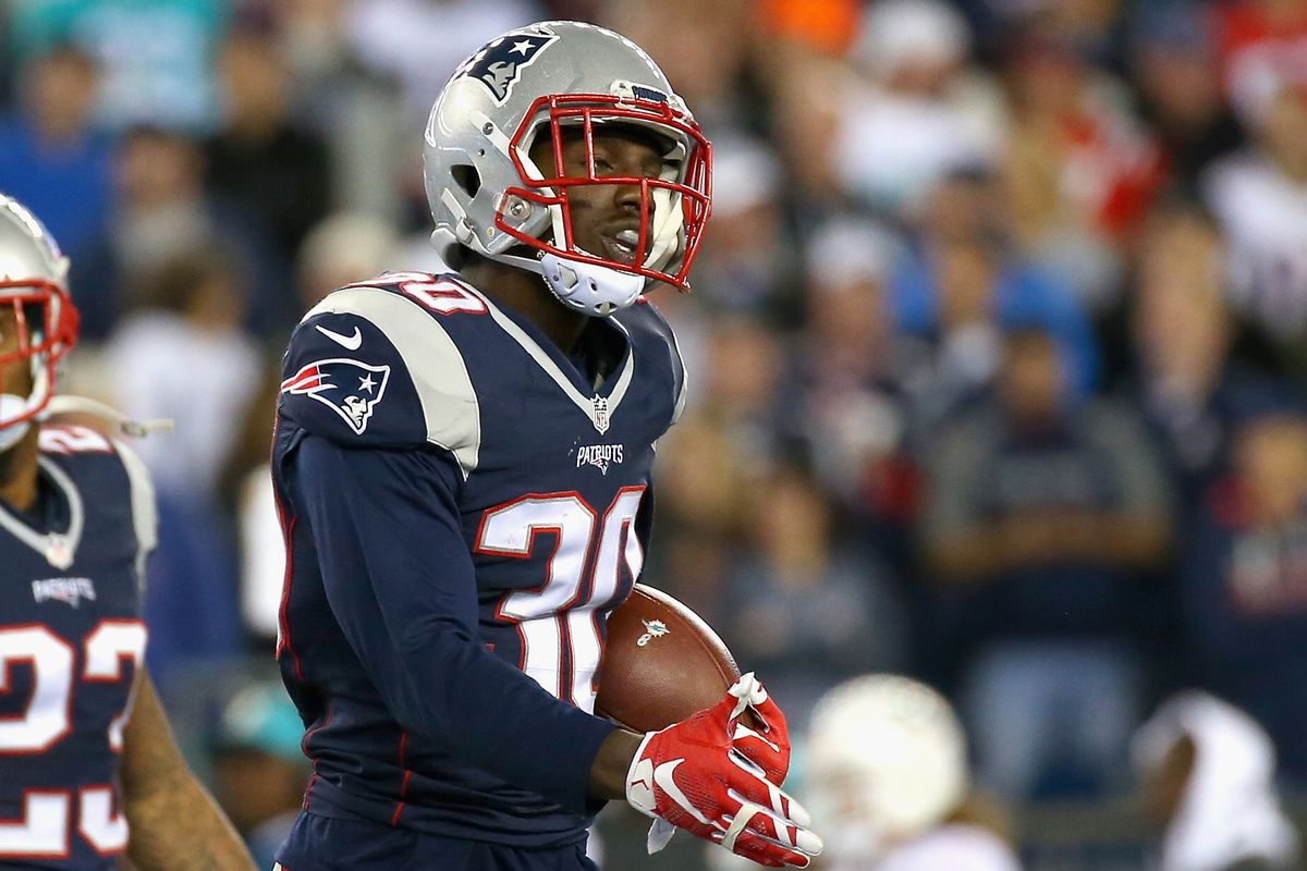 Always good to see Duron Harmon with the ball in his hands.