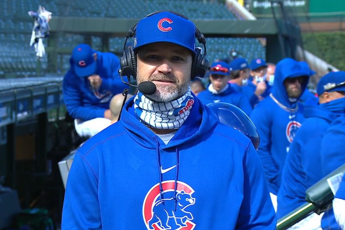 In-game interviews with managers, such as the Cubs' David Ross, often provide little insight.