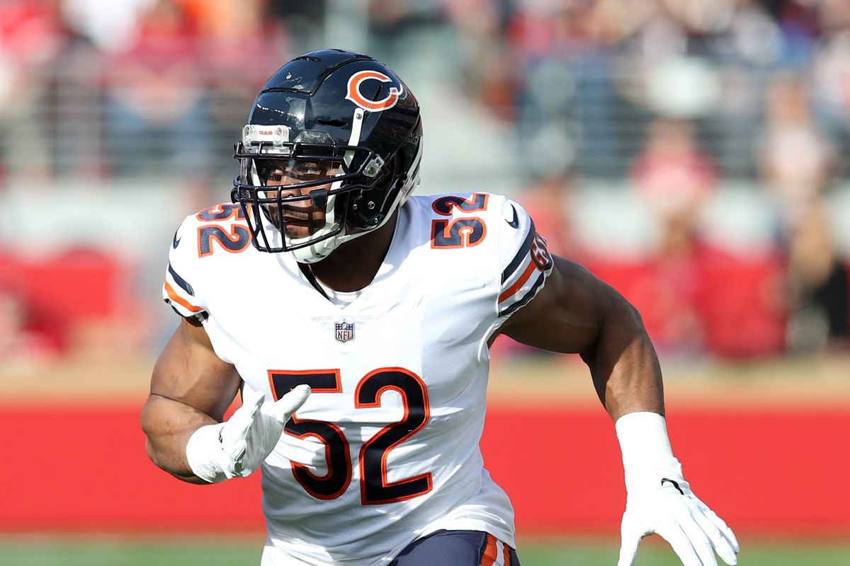 huge selection of 1fc70 a9f3f 10 Most Important Bears of 2019: #2 Is Khalil Mack the best ...