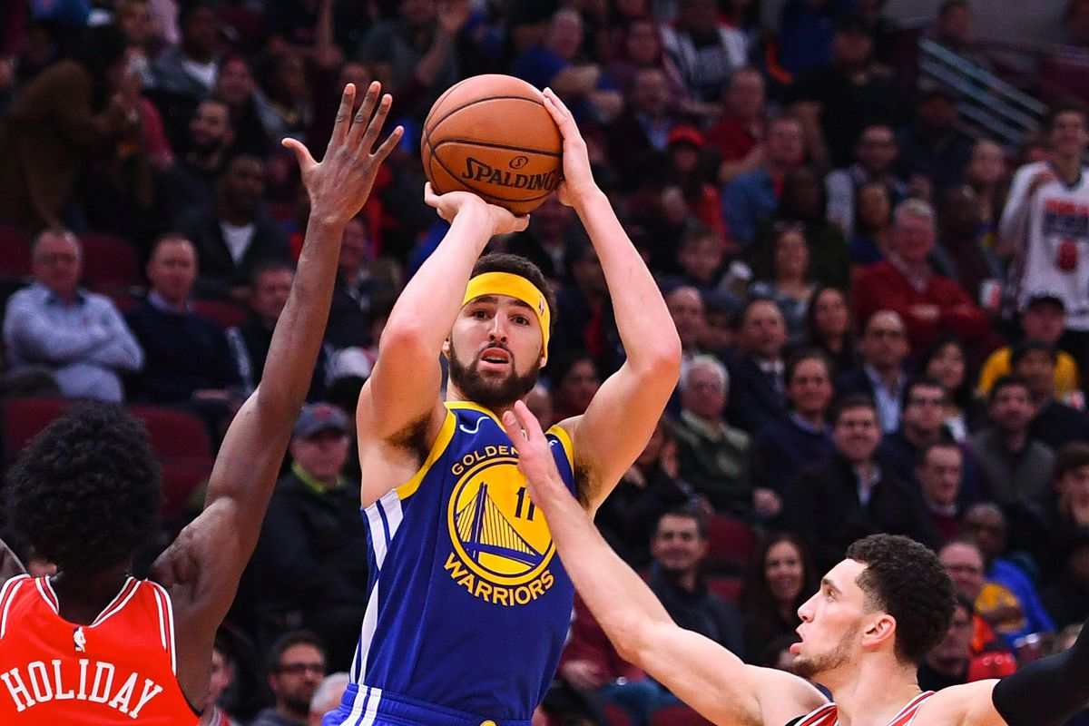 7800044bb Klay Thompson was the latest Warrior to catch fire offensively during their  high-scoring road trip. Mike DiNovo-USA TODAY Sports