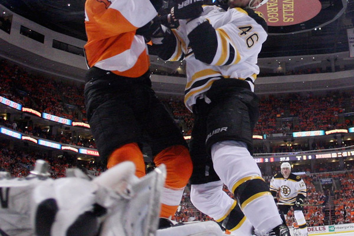 I am too tired to think of a caption. (Photo by Bruce Bennett/Getty Images)