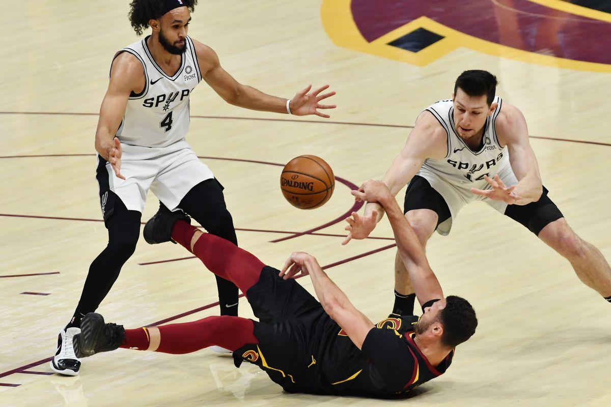 NBA: San Antonio Spurs at Cleveland Cavaliers