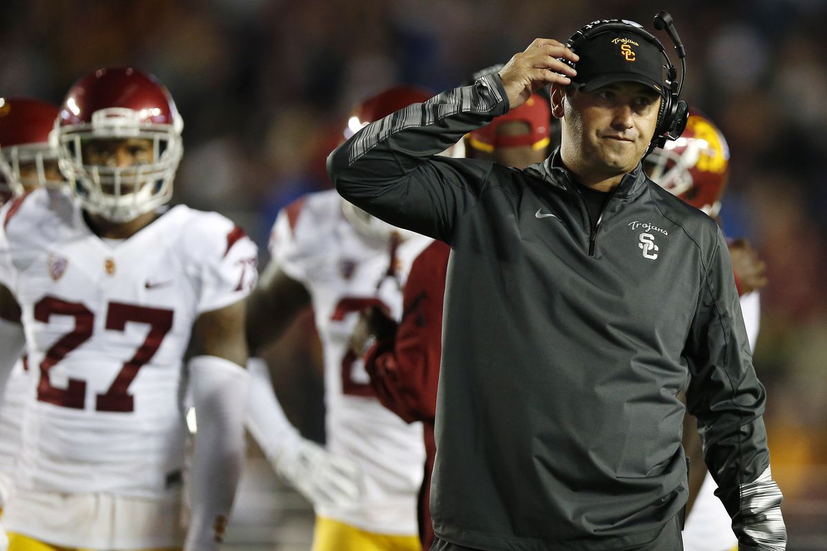 Steve Sarkisian will have plenty of questions to answer this week.