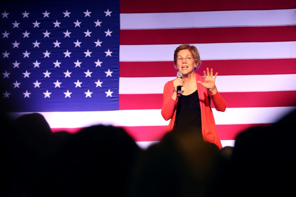 Elizabeth Warren Holds Get Out The Vote Event In Derry, NH