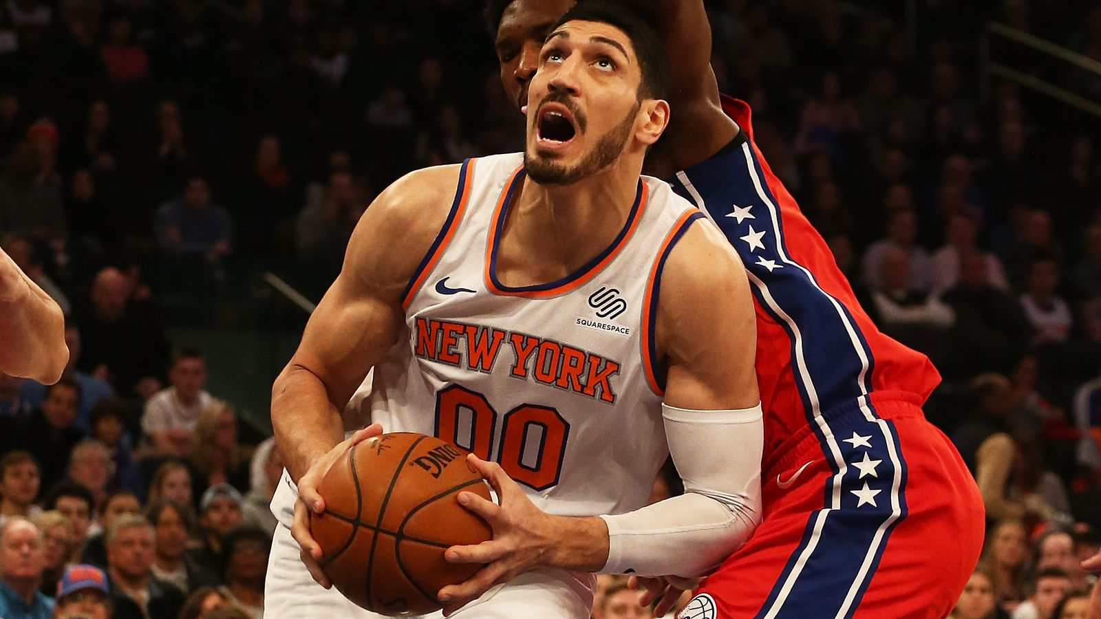 enes kanter has career game on christmas day