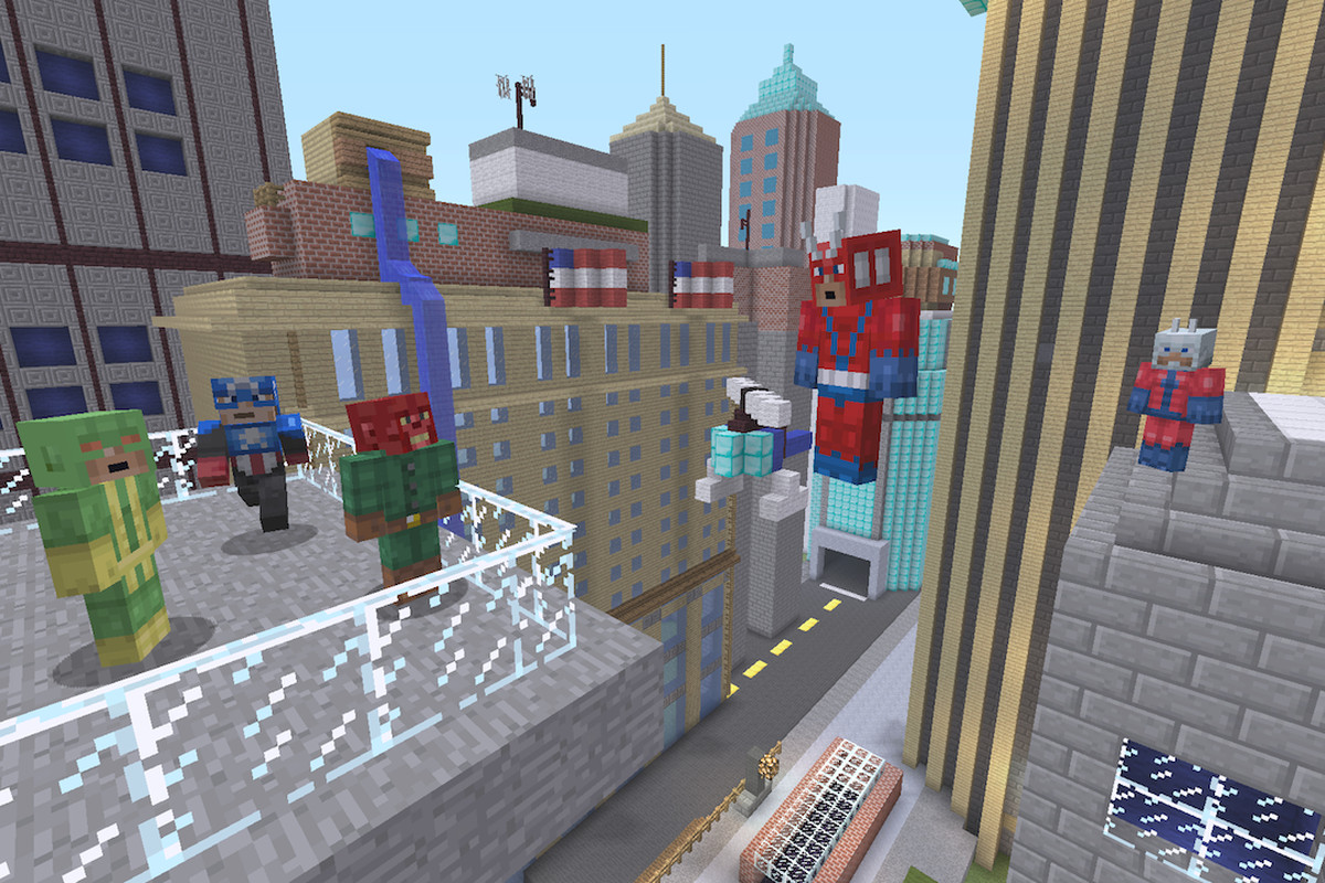 Minecraft' comes to PS4 on Thursday and Xbox One on Friday