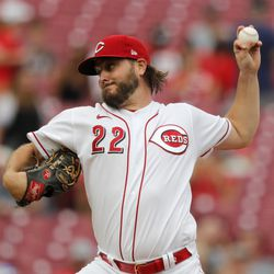 Wade Miley, Reds starting pitcher on Saturday