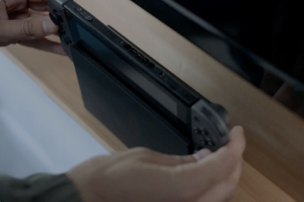 The Nintendo Switch S Dock Doesn T Do Much Of Anything
