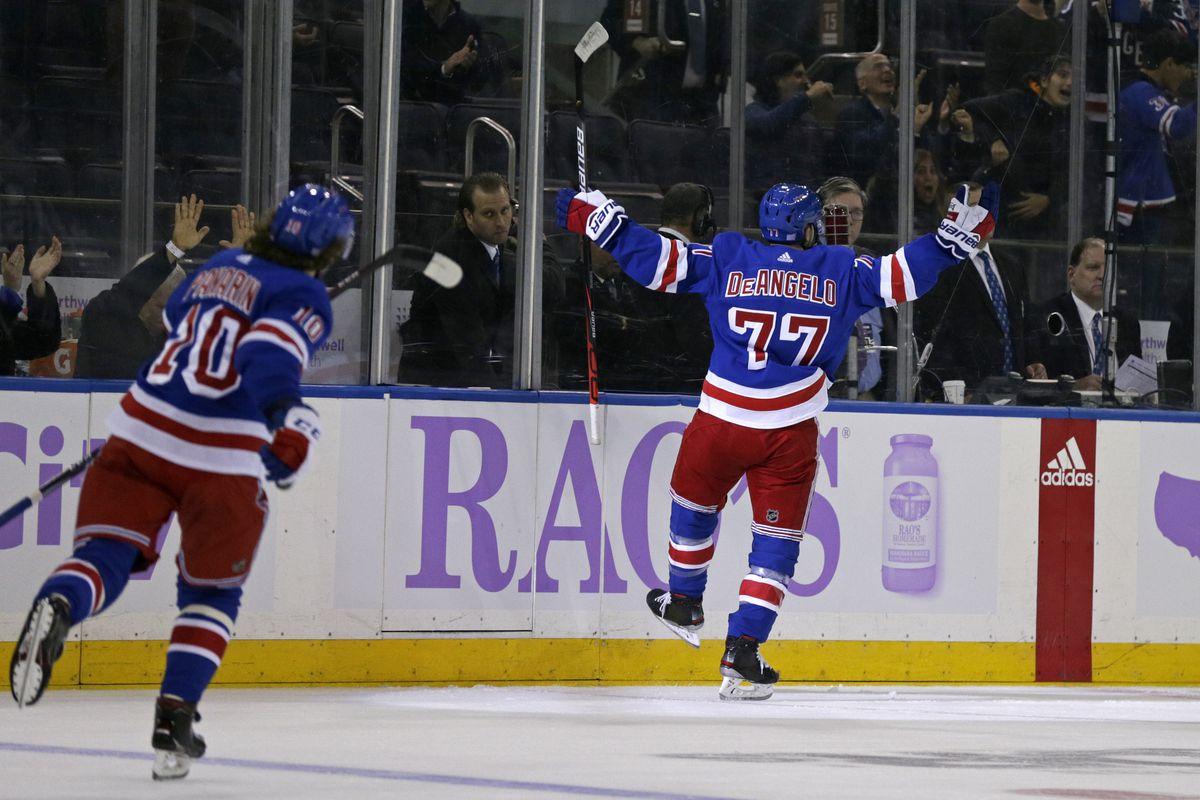 NHL: Minnesota Wild at New York Rangers