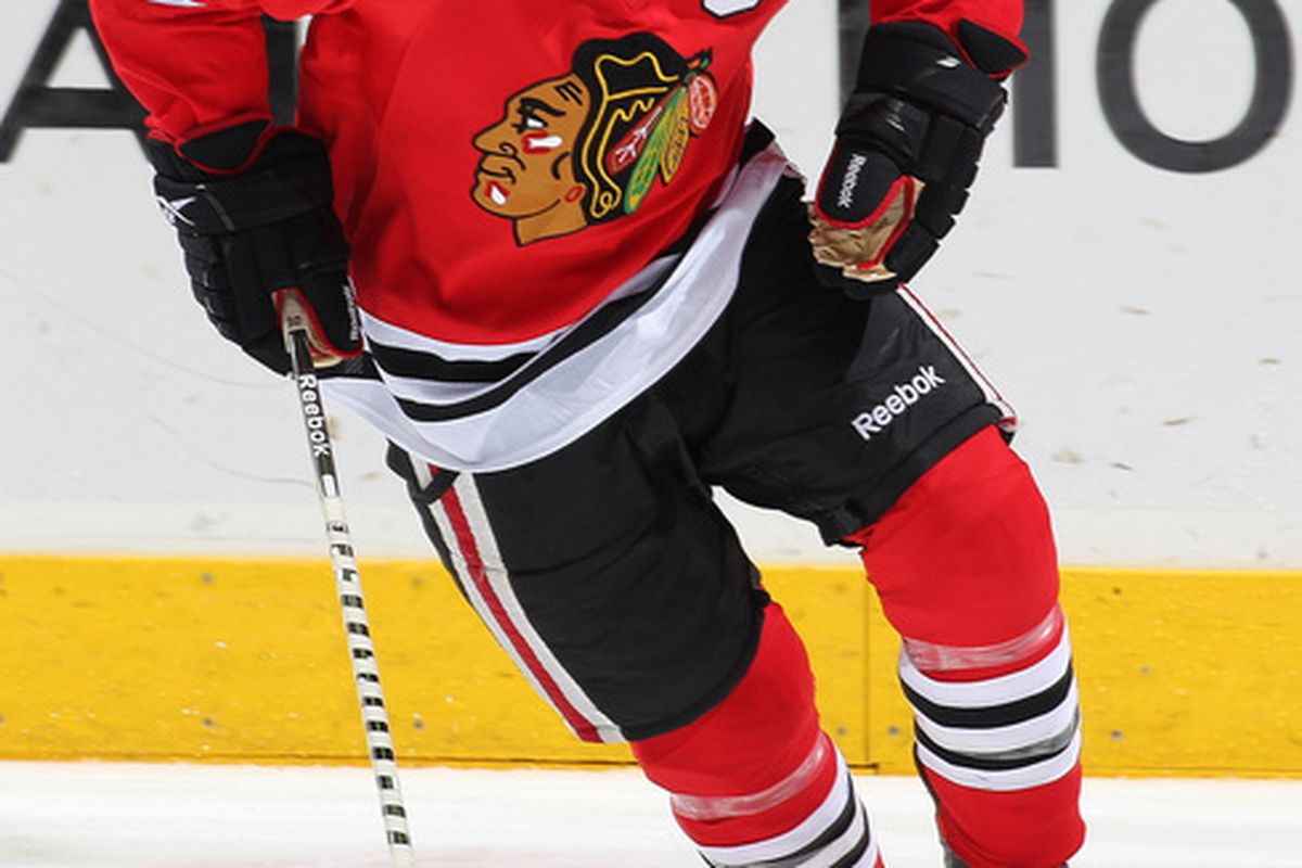 LONDON,ON - SEPTEMBER 12:  Brian Connelly #56, formerly of the Blackhawks has been traded to the Flames for Brendan Morrison. Canada.