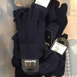 Lambswool gloves, $17