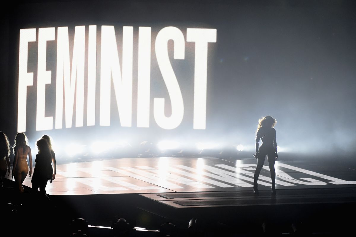 Beyoncé performs onstage during the 2014 MTV Video Music Awards.