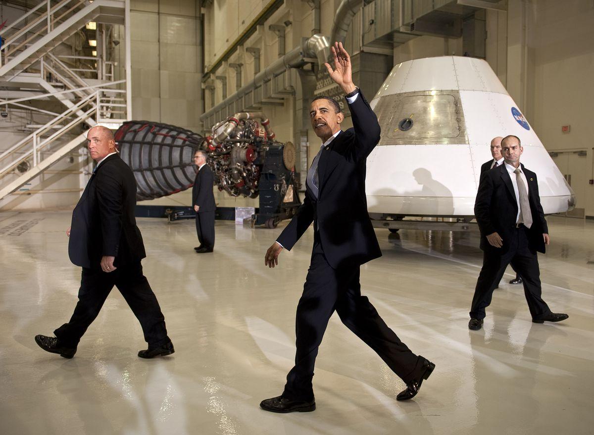 obama nasa space