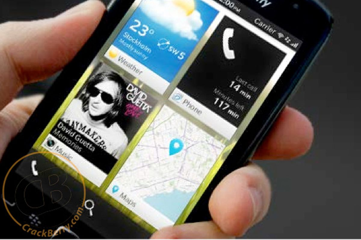 Alleged BlackBerry 10 Leaked Images from Crackberry