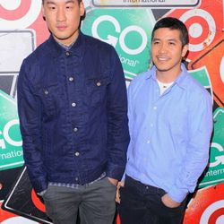 NEW YORK, NY - MARCH 10: (L-R) Fashion designers Richard Chai and Thakoon attend the GO International Designer Collective Launch at the Ace Hotel on March 10, 2011 in New York City.  (Photo by Andrew H. Walker/Getty Images) *** Local Caption *** Richard C