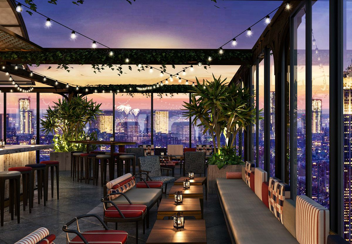 Tao Plays It Prim With An Upcoming Times Square Seafood