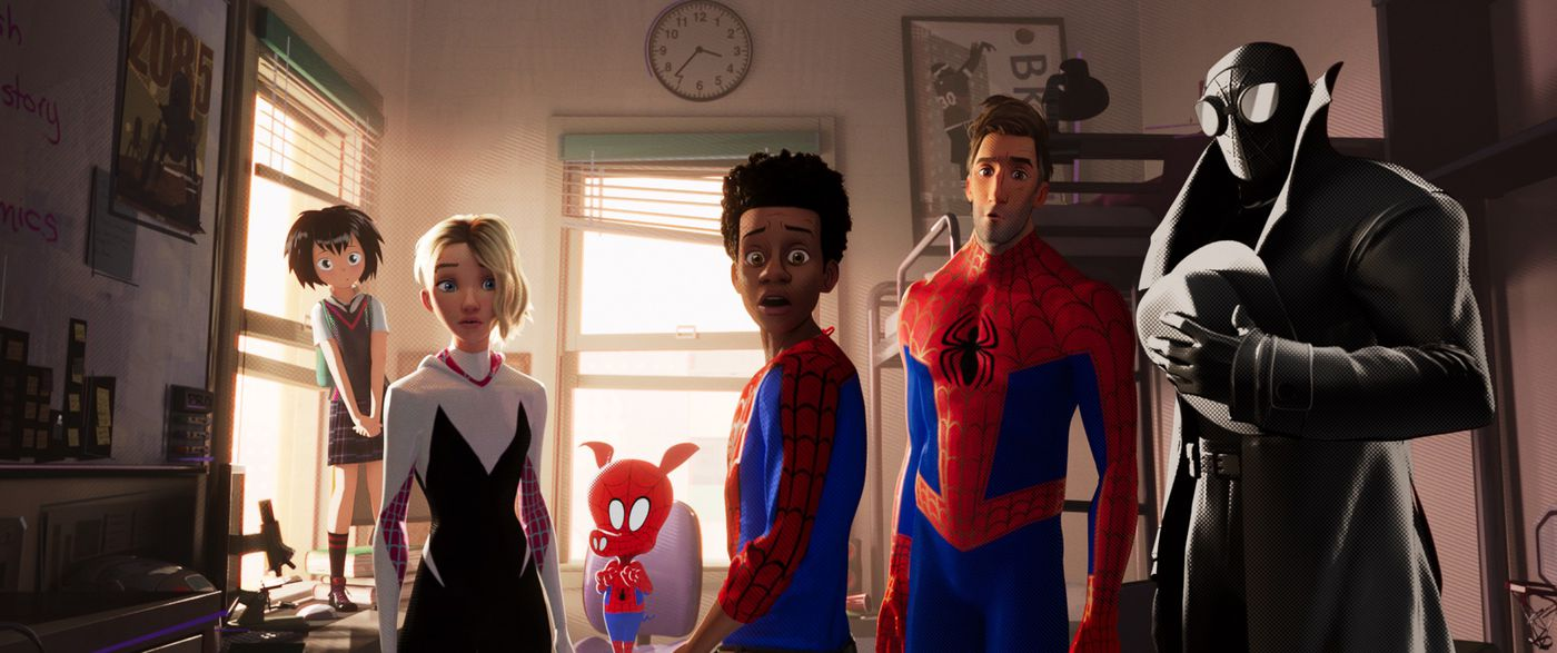 Spider-Man: Into the Spider-Verse is dazzling, hilarious