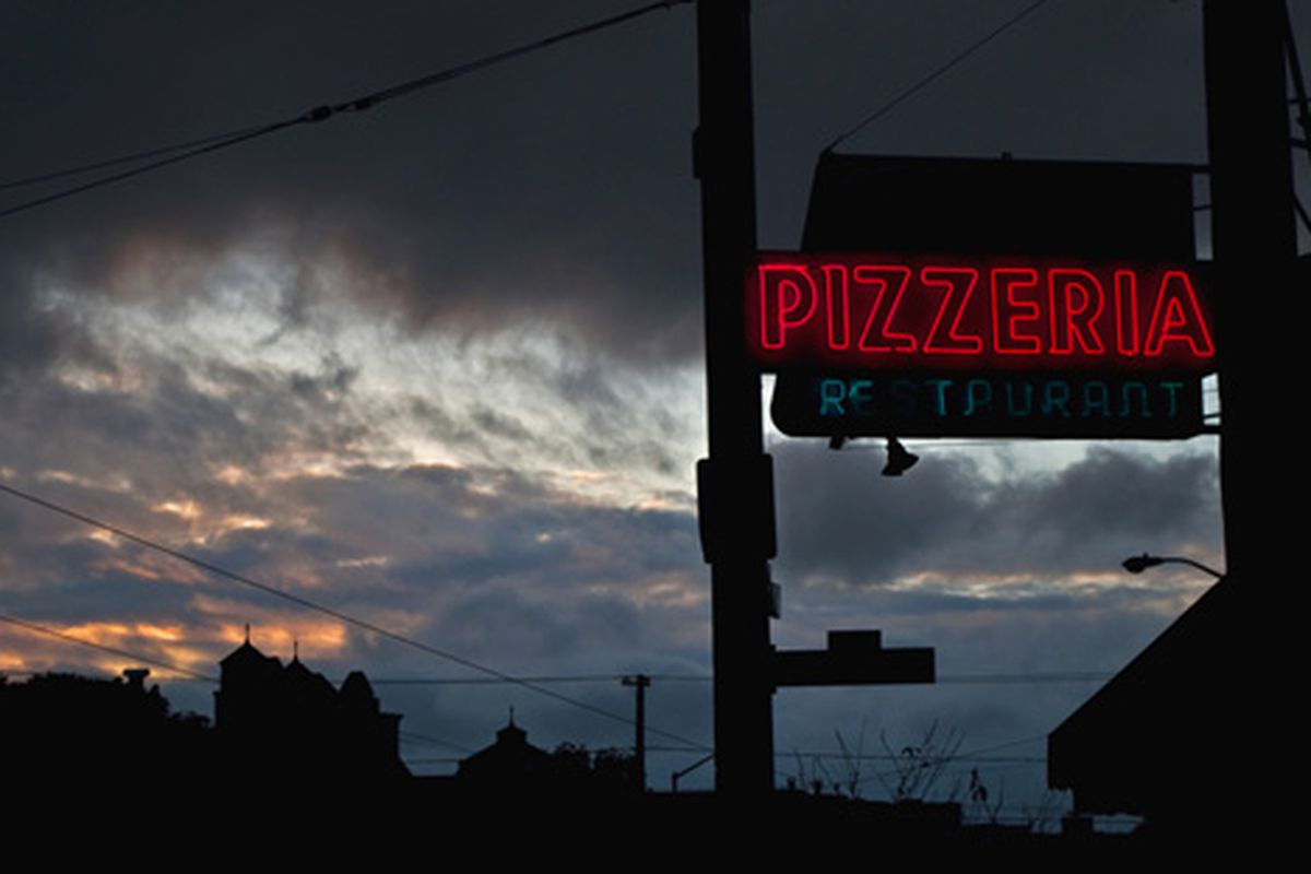 Pasquale's in the Sunset.