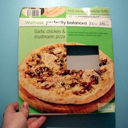 """""""worst pizza ever"""". <a href=""""http://www.flickr.com/photos/grocko/14211297/"""">Flickr/groc</a>"""